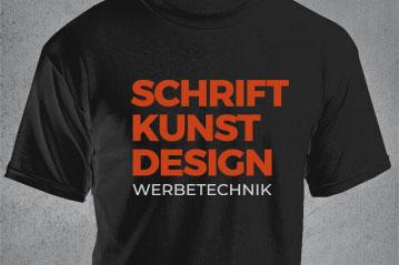 Textildruck T-Shirt Druck